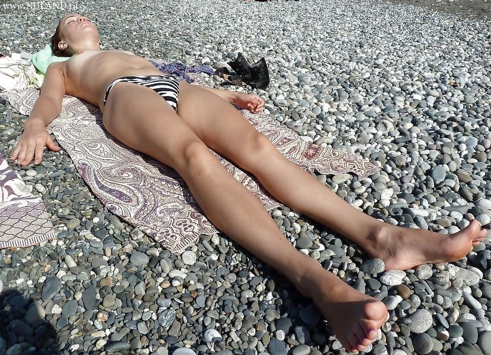 Лялькина на пляже